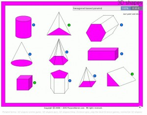 nets of 3d shapes quiz