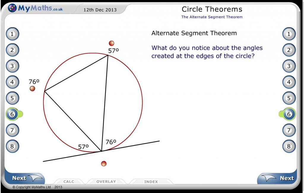 my maths circle theorems