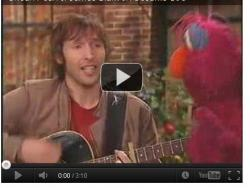 James Blunt and Sesame Street!